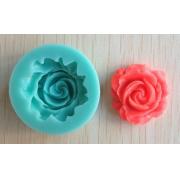 Молд силиконовый Розочка (диаметр всего молда 3.8 см)