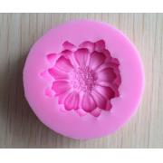 Молд силиконовый Цветок (диаметр молда 4.7см)