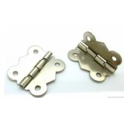 Петляя для шкатулок Д-018 31х25 мм серебро (2 шт.)