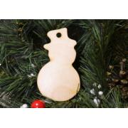 Декоративный элемент Снеговик 10 см (2шт.)
