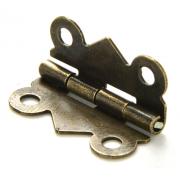 Декоративная петля для шкатулок 20х17 мм бронза (2 шт.)