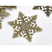 Снежинка металл 45х45мм (2шт.)