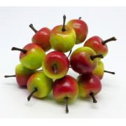 Искусственные фрукты: яблоко DKB081, 3 шт.