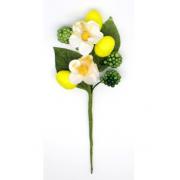 Декоративный букетик Лимонный DKB092