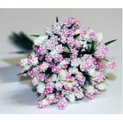 Декоративный букетик розовый 028B (12шт.)