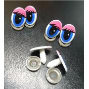 Глазки пластик винтовые 14х22мм (4шт.)