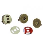 Кнопки магнитные 18 мм (1шт.) под бронзу