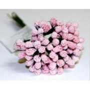 Декоративный букетик розовый 026B (12шт.)
