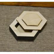 Шкатулка для колец №3 (10х9х2.5см)
