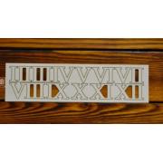 Цифры римские №12 выс.2см (картон)