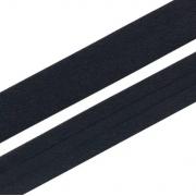 Косая бейка х/б GK-15C 14-15мм №080 черный (2 метра)