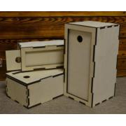 Коробка-пенал №2 15х10х30см