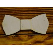 Заготовка для галстука-бабочки простая 11см