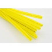 Проволока  синельная 30 см желтый, 50 шт