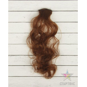 Волосы - тресс для кукол «Кудри» длина волос: 40 см, ширина: 50 см, №6