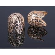 Шапочки для бусин СМ-051-1 (10шт) под золото