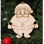 """Новогоднее украшение """"Дед мороз"""" 10 см"""