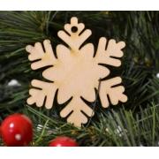 Новогоднее украшение Снежинка3 10х10см (1шт.)