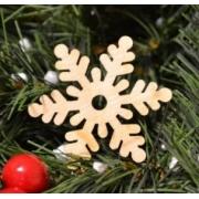 """Новогоднее украшение """"Снежинка6"""" 10см"""