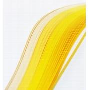 """Полоски для квиллинга """"Желтый микс"""" В 05-100 (5 мм 100 шт.)"""