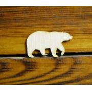 """Заготовка """"Медведь"""" 5 см (2 шт.)"""