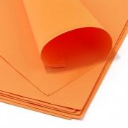 Фоамиран 1 мм 50х50 см Оранжевый Иран