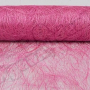 Сизалевое полотно (сизаль) 50х100см розовый