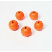 Бусины дерево HBO-05 19 мм (5 шт.) оранжевый