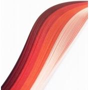 """Полоски для квиллинга """"Красный микс"""" В 04-05-100 (5 мм 100 шт.)"""