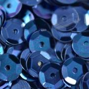 Пайетки ZC 6 мм 10 г темно-синий №37