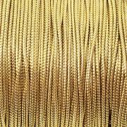 Шнур металлизированный золотой GC-001M (1 мм) 4метра