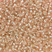 Бисер Тайвань 3213 11/0 10г розово-золотой