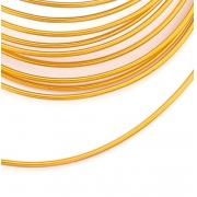 Проволока для плетения 2 мм золото SF-906, 3 метра