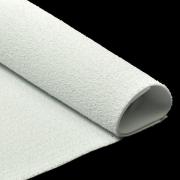 Фоамиран махровый 2мм 20х30см белый