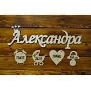 "Метрика ""Александра"" 50см"