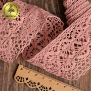 Кружево 10мм розовый (1метр)