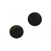 Термоклеевые стразы IDEAL 2,7-2,9 мм цв. JET (черный), 144 шт.