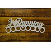 Медальница спортивная бег 50см