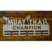 "Медальница ""Muay thai champion"", тайский бокс, 50см"