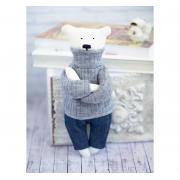 Набор для шитья игрушки «Домашний медведь Кристиан», высота 23 см