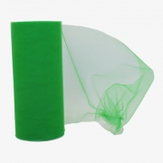 Фатин ширина 15см (2метра) зеленый