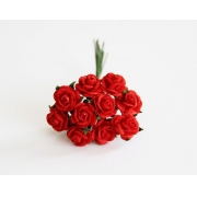 Розочки 1 см (10 шт.) красные