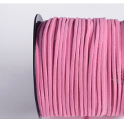 Шнур замшевый 2,5х2 мм (1метр) розовый