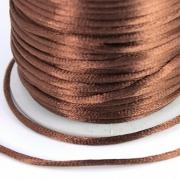 Шнур отделочный GC-020A 2мм коричневый 037 (2м)