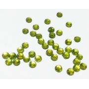 Термоклеевые стразы Zlatka 2.7 мм светло-салатовые (144 шт.)