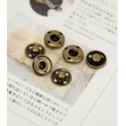 Кнопки пришивные KLM-150 15мм (10шт.) бронза