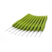 Крючок для вязания металл с прорез.ручкой 2.0