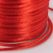 Шнур отделочный GC-020A 2мм красный 026 (2 метра)