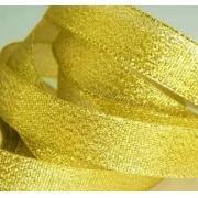 Лента металлизированная парчовая MR-20 20мм (3 метра) золото