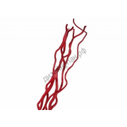 Ствол для топиариев (корилус, кува) 5-7 мм красный(1шт.)